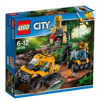 LEGO CITY JUNGLE HALFTRACK MISSION