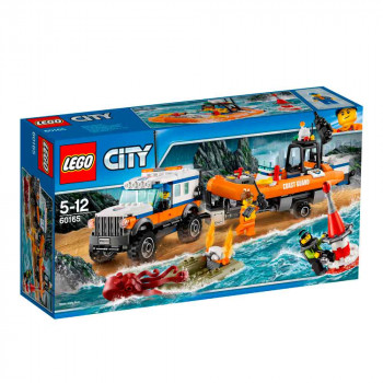 LEGO CITY 4 X 4 RESPONSE UNIT