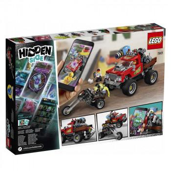 LEGO HIDDEN SIDE EL FUEGOS STUNT TRUCK