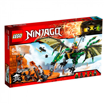 LEGO NINJAGO THE GREEN NRG DRAGON