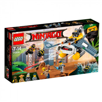 LEGO NINJAGO MOVIE MANTA RAY BOMBER
