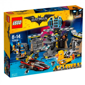 LEGO BATMAN MOVIE BATCAVE BREAK-IN