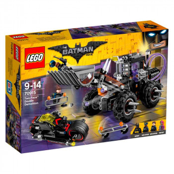 LEGO BATMAN MOVIE TWO FACE DOUBLE DEMOLITION