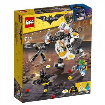 LEGO BATMAN MOVIE EGGHEAD MECH FOOD FIGHT