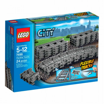 LEGO CITY FLEXIBLE TRACKS SINE