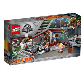 LEGO JURASSIC WORLD VELOCIRAPTOR CHASE