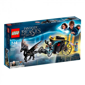 LEGO HARRY POTTER GRINDELWALD ESCAPE