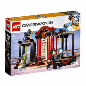 LEGO OVERWATCH HANZO VS GENJI