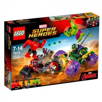 LEGO SUPER HEROES HULK VS. RED HULK