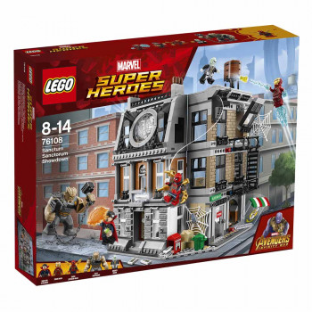 LEGO SUPER HEROES SANCTUM SANTOURUM SHOWDOWN