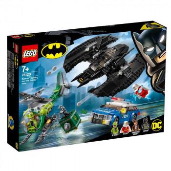 LEGO SUPER HEROES BATMAN BATMAN BATWING AND THE RIDDLER HEIST