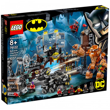 SUPER HEROES BATMAN BATCAVE CLAYFACE INVASION