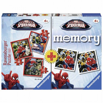 RAVENSBURGER PUZZLE SPIDERMAN MEMORY