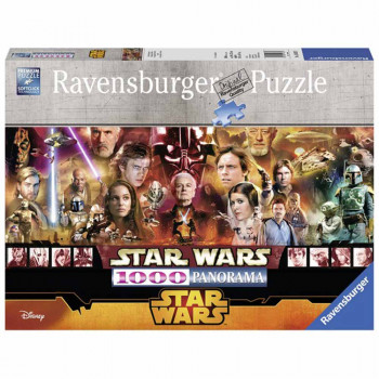 RAVENSBURGER PUZZLE STAR WARS PANORAMA
