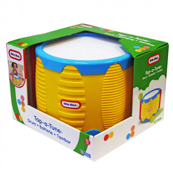 LITTLE TIKES DOBOS TAP A TUNE DRUM
