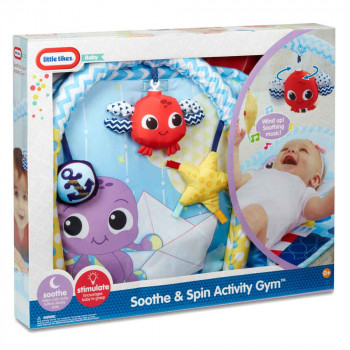 LITTLE TIKES SOOTHE-N-SPIN ACTIVITY GYM