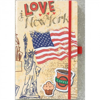 YVORY NOTEBOOK COLLECTION TRAVELLER/EXOTIC NOTES 13X21