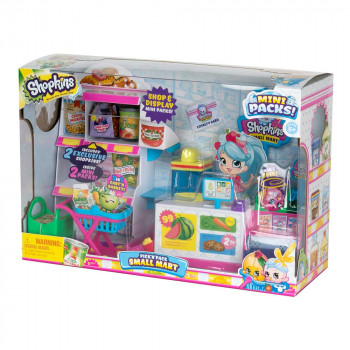 SHOPKINS PICK N PACK MARKET SET