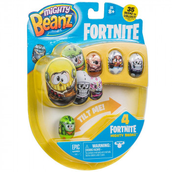 MIGHTY BEANZ FORTNITE SET