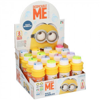 MINIONS BUBBLES MINIONS 175ML DISPLAY 16