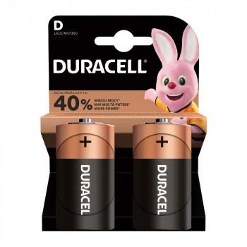 DURACELL BASIC D BATERIJA 2 KOM DURALOCK