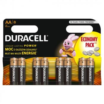 DURACELL BASIC AA 8KOM DURALOCK