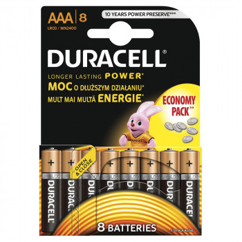 DURACELL BASIC AAA 8 KOM