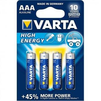 VARTA HIGH ENERGY ALKALNA LR03 BLI4