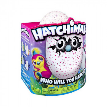 HATCHIMALS INTERAKTIVNO JAJE - ROZE