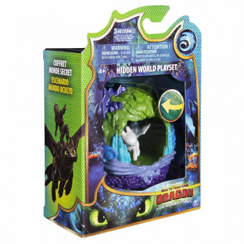 DRAGONS FIGURA U JAZBINI SORT