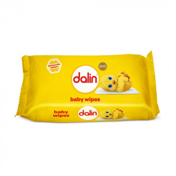 DALIN BEBI VLAZNE MARAMICE WIPES 56 PCS