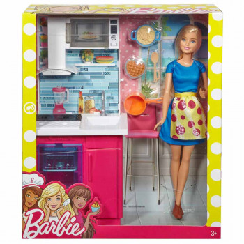 MATTEL BARBIE SET SA NAMESTAJEM