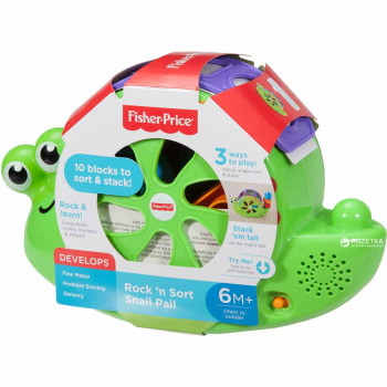 FISHER PRICE MUZICKI INTERAKTIVNI PUZ SA KOCKAMA