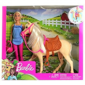 MATEL BARBIE I PONI SET