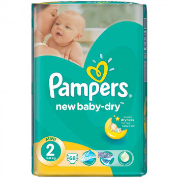 PAMPERS 2 MINI NEW BABY (68)