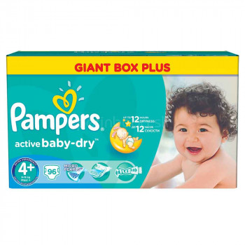 PAMPERS MBM 4+ MAXI ACTIVE (96)
