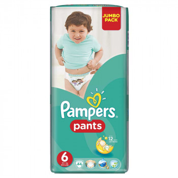 PAMPERS PANTS JP 6 EXTRA LARGE (44)