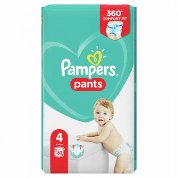 PAMPERS PANTS GP 4 MAXI (62)
