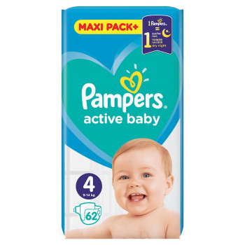 PAMPERS AB JPM 4 MAXI  (62)