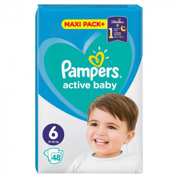 PAMPERS AB JPM 6 LARGE 48