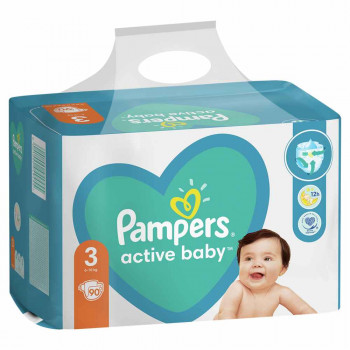 PAMPERS AB GP 3 MIDI  90