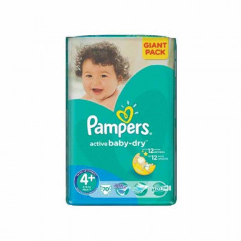 PAMPERS AB GP 4+ MAXI+ 70