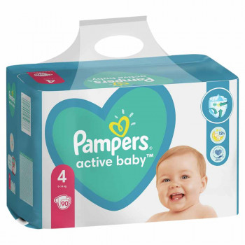 PAMPERS AB GPP 4 MAXI 90