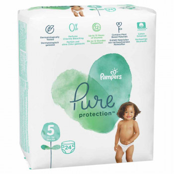 PAMPERS PURE VP 5 JUNIOR (24)