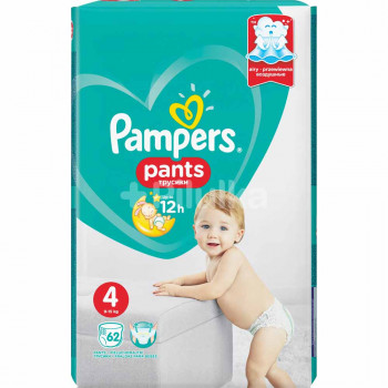 PAMPERS PANTS GP 4 MAXI (62)