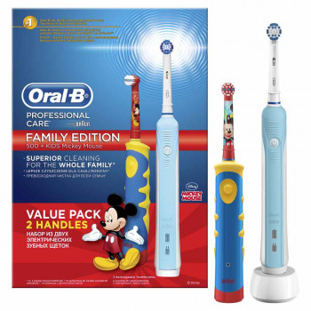 ORAL B CETKICA POWER BRUSH D16+D10 MICKEY 20%