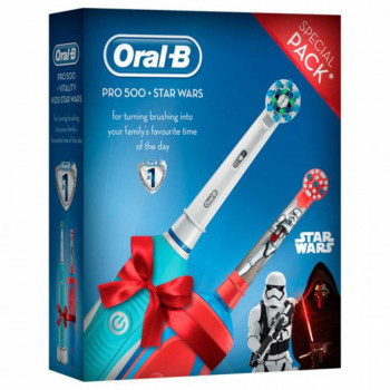 ORAL B  POC BRUSH PRO 500 + KIDS STAR WARS