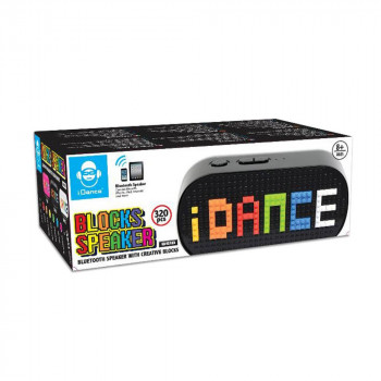 IDANCE BLOCKS BLUETOOTH SPEAKER BS10(BK) - CRNI