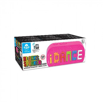 IDANCE BLOCKS BLUETOOTH SPEAKER BS10(PK) - PINK