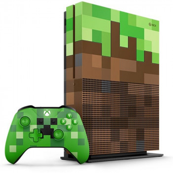 XBOXONE S CONSOLE 1TB MINECRAFT LIMITED EDITION